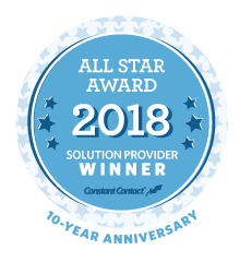 Contant Contact All Star Award 2018