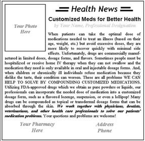 current health and wellbeing content with newspapers